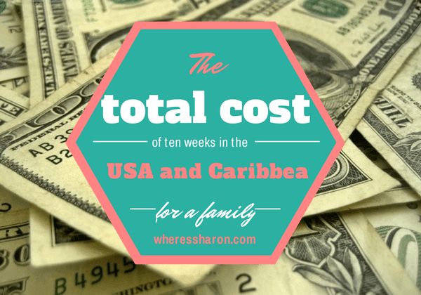 trip cost of a family trip to the USA and Caribbean