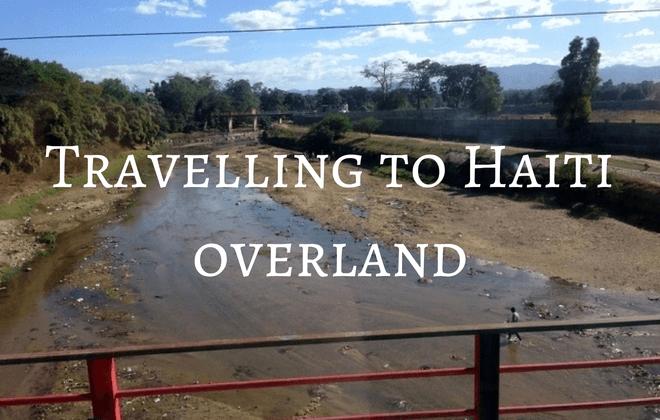 Crossing the Haiti Dominican Republic border