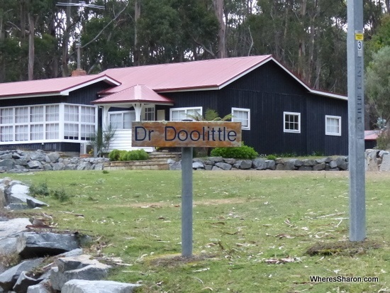 family holiday tasmania at Doo Town