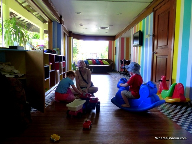 Grand Mirage Resort kids club