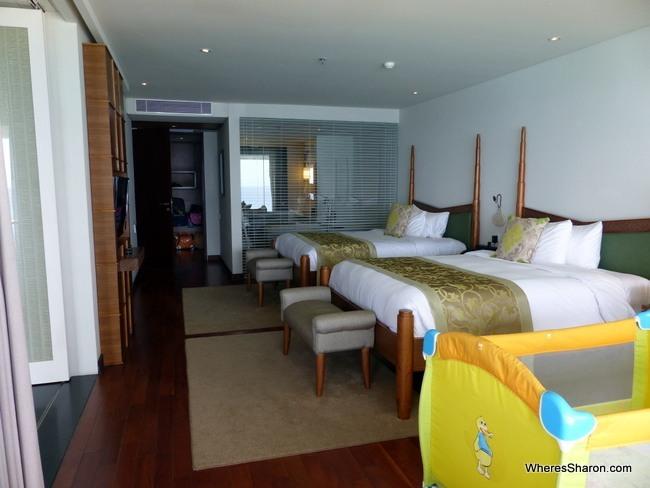 Samabe bali suites bedroom