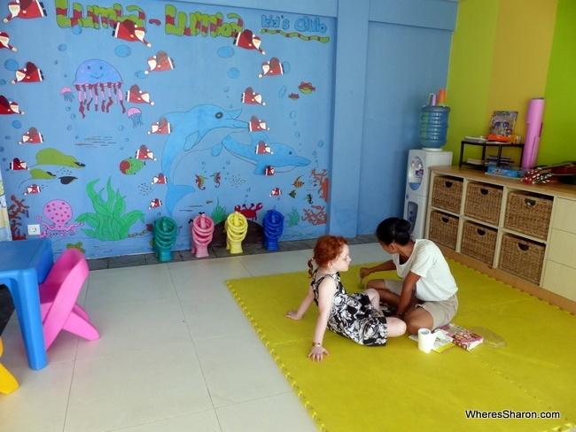Samabe bali suites and villas kids club