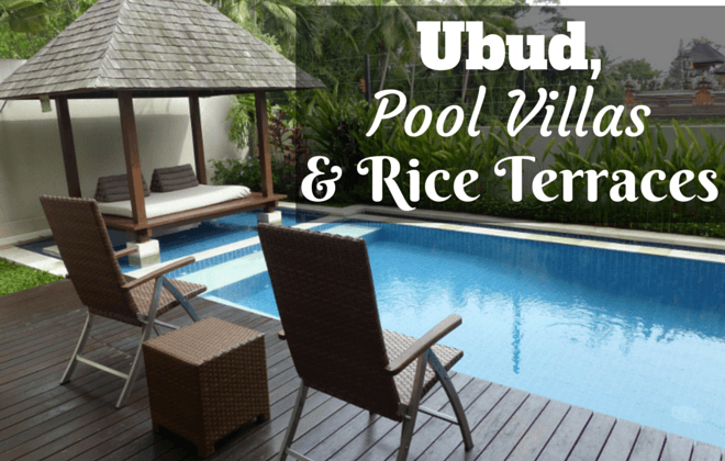Ubid, Pool villas and rice terraces