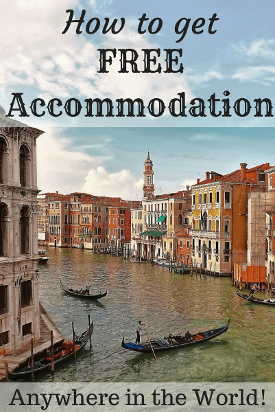 How to get free accommodation anywhere in the world for a family