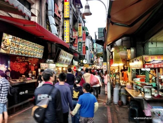 Taipei's night markets