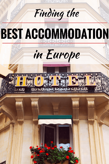 Finding the best accommodation in Europe for kids