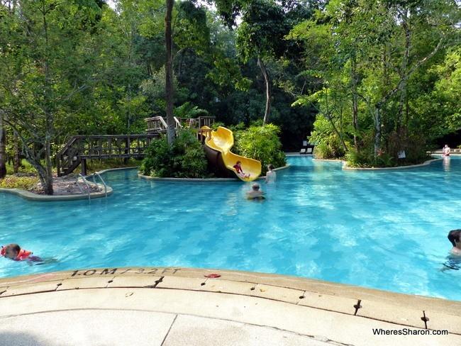 pool at the andaman langkawi