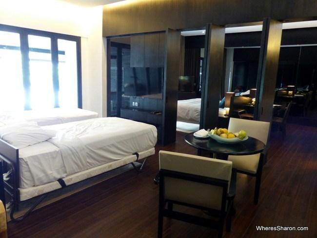 suite at The Andaman Langkawi