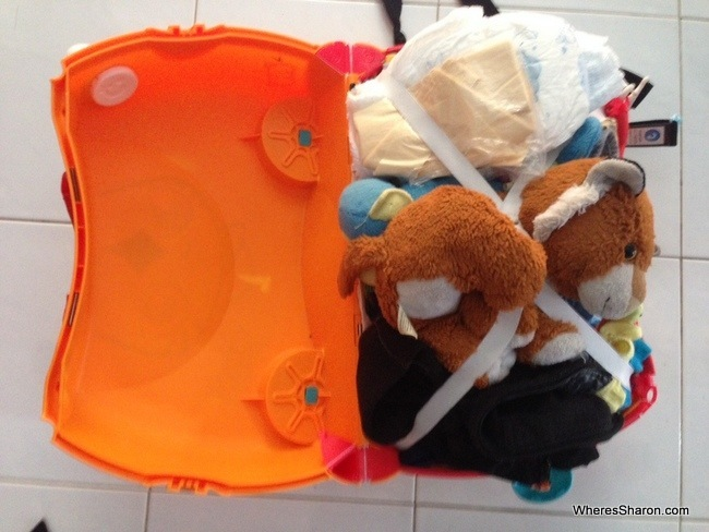 packing list for family vacation trunki
