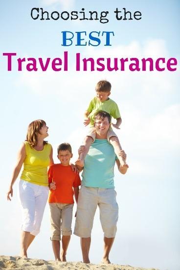Choosing the best travel insurance