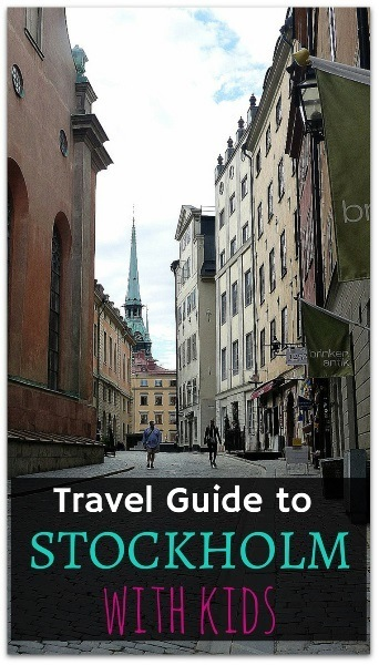 Travel Guide to Stockholm with kids