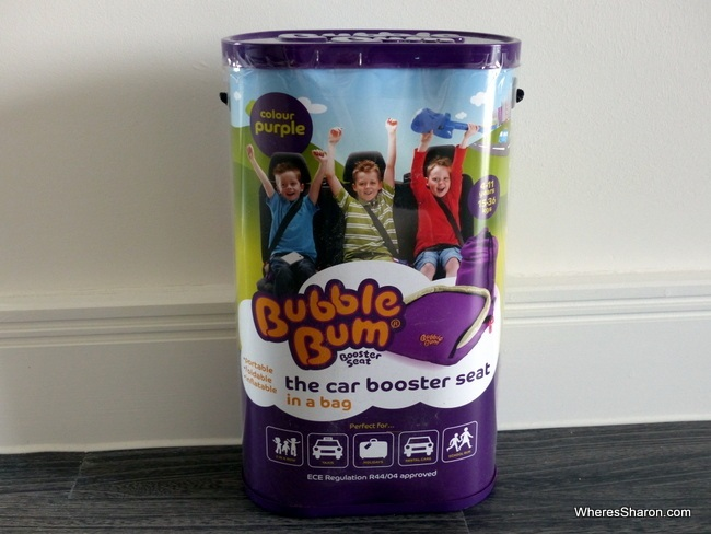 Our BubbleBum on arrival