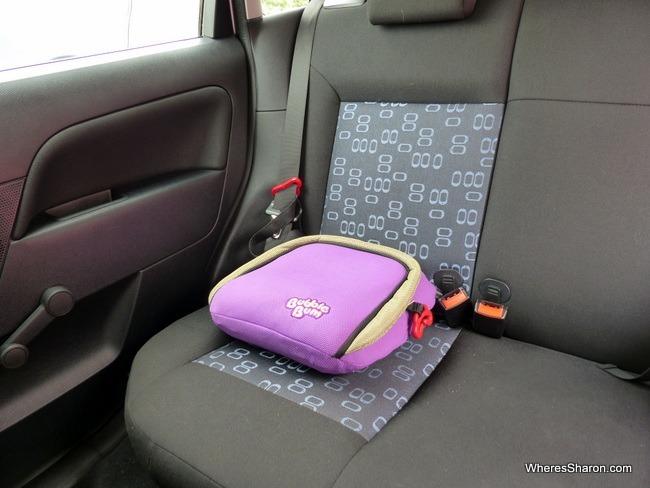 bubblebum seat