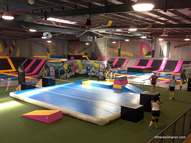 things to do in bangkok with kids at Bounce