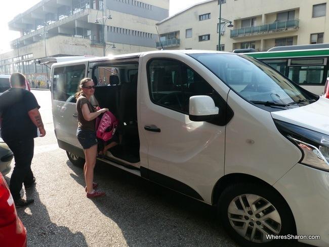 GoOpti Van from Venice to Ljubljana