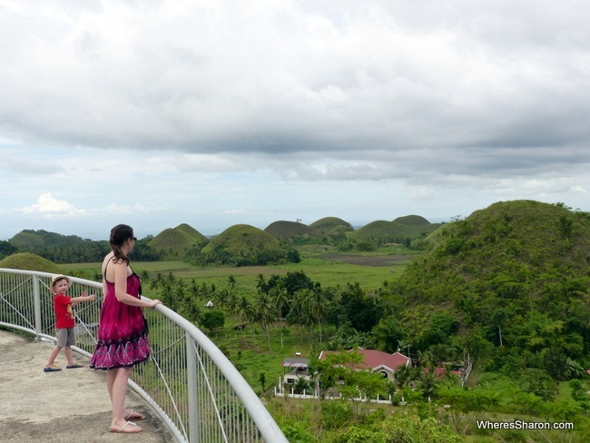 Bohol attractions Chocolate Hills
