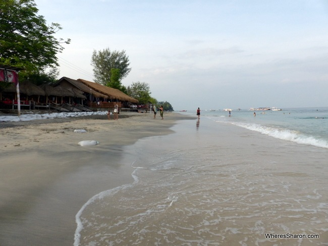things to do in gili island beaches on Gili Islands