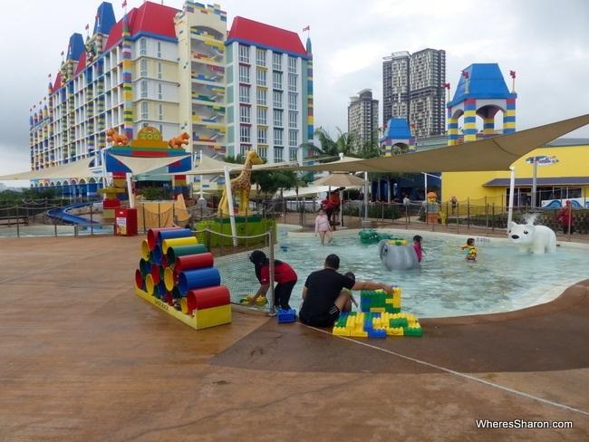 DUPLO Splash Safari at Legoland Water Park Malaysia