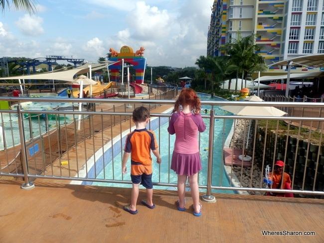 lazy river Legoland Water Park Malaysia