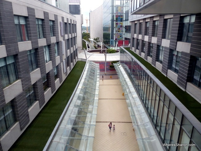 shopping at Hotel Jen Puteri Harbour review