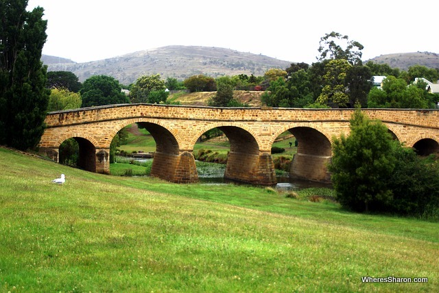 famous places in tasmania at Richmond Bridge