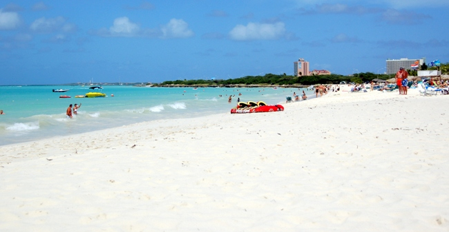 best caribbean islands for family vacations Aruba