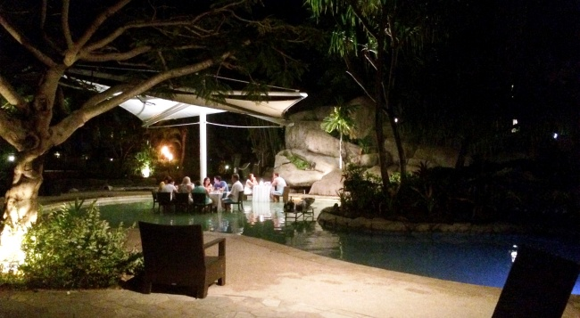 Lomani Wai romantic dinner at Radisson Blu Resort
