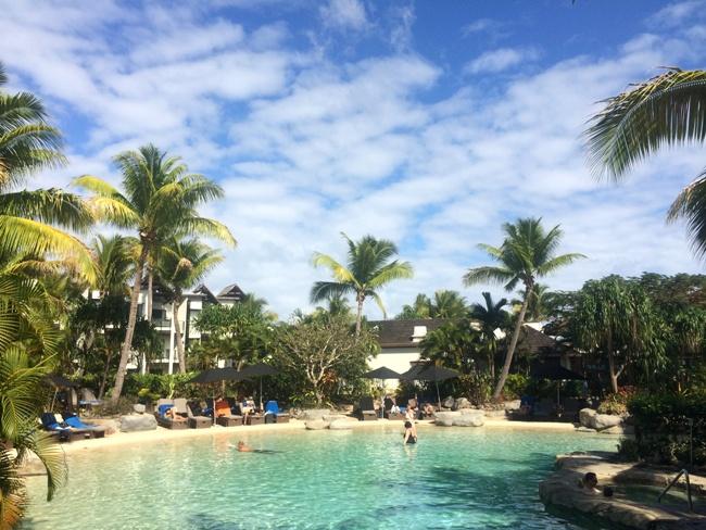 The adult pool at Radisson Blu Resort