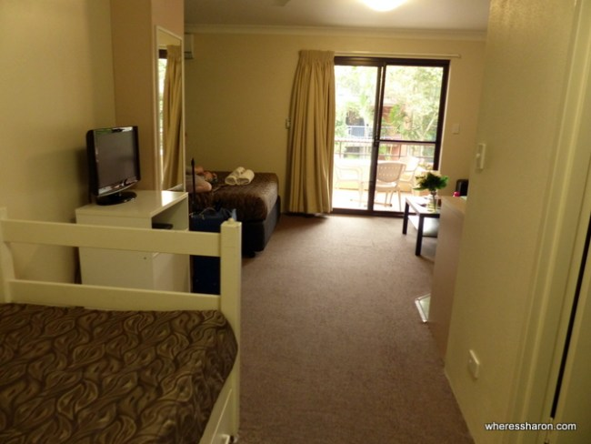 byron bay family accommodation at Byron Bay Side Central Motel