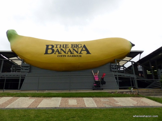 what to do in coffs harbour with kids at Big banana
