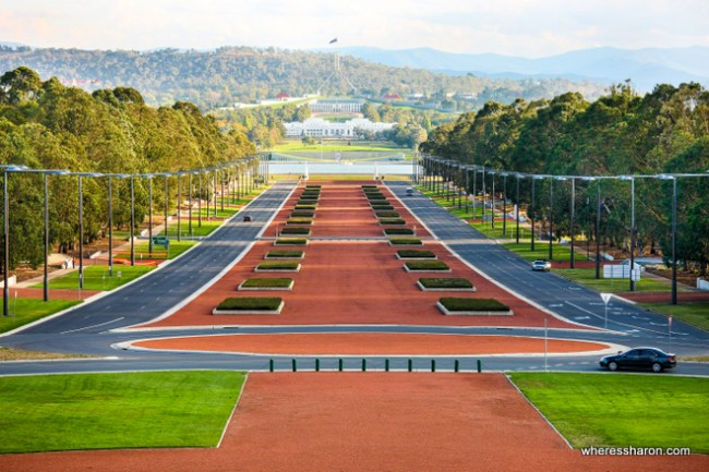 things to do and see in canberra at Anzac Parade