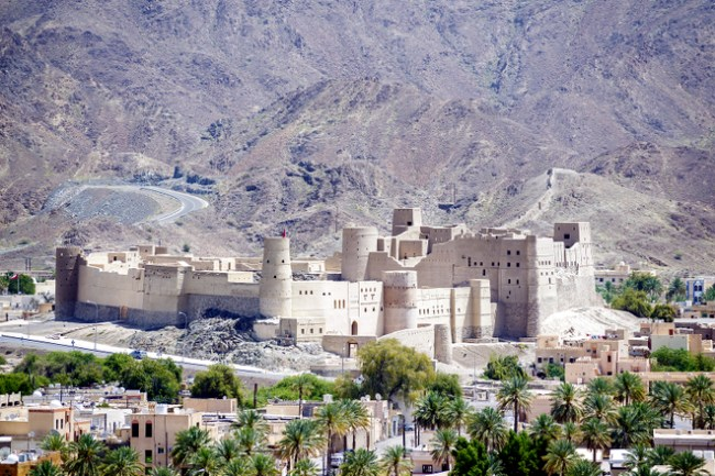 Bahla Fort places to visit around muscat