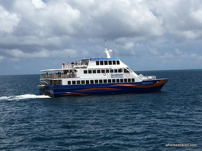 Great Barrier Reef Cairns Sunlover cruise