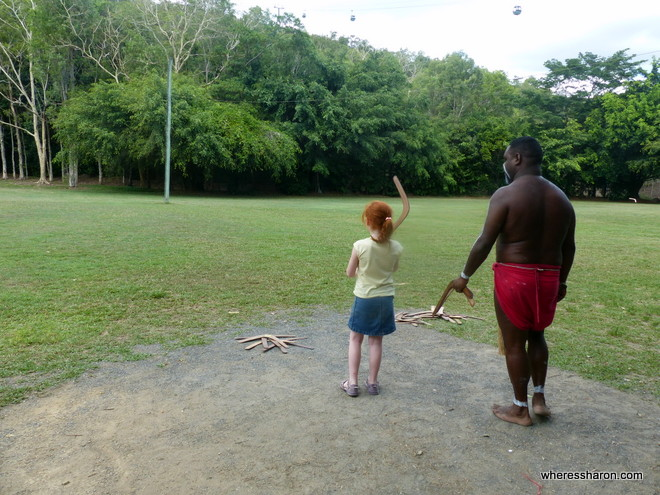boomerangs at family things to do in cairns