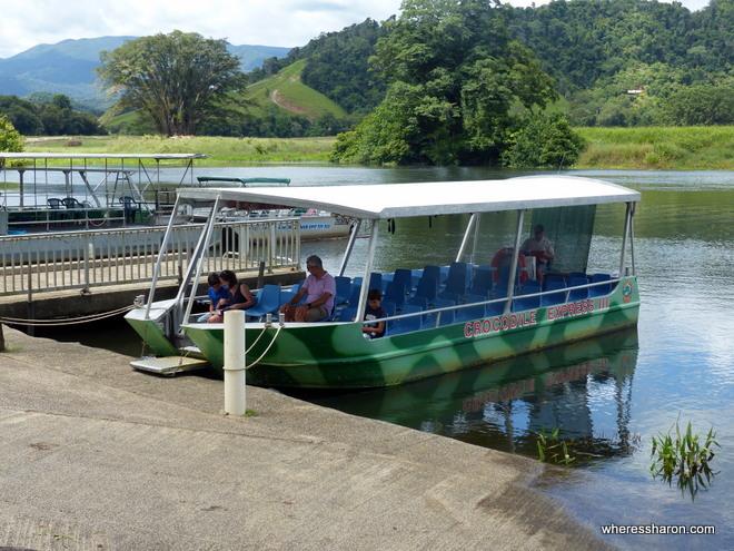 Crocodile Express Daintree River cruise