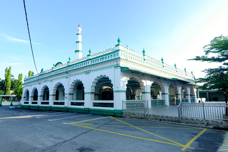 The India Muslim Mosque, one of the more stately places of interest in Ipoh town.