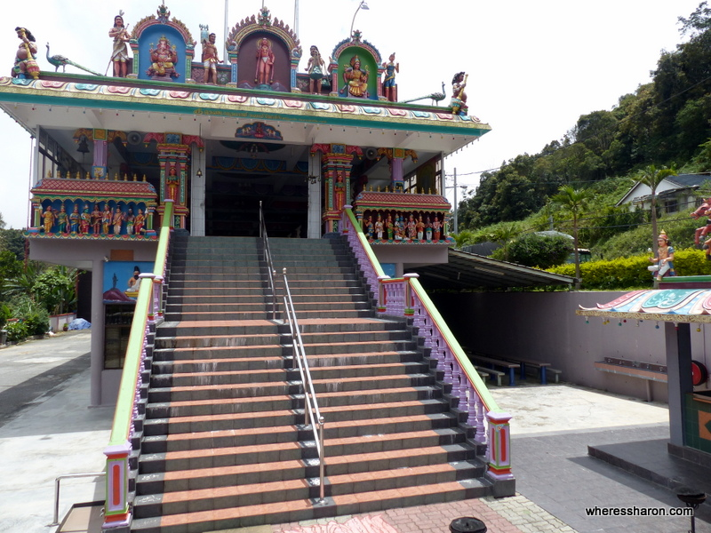 cameron highlands malaysia things to do at Sri Tehndayuthapany Swamy