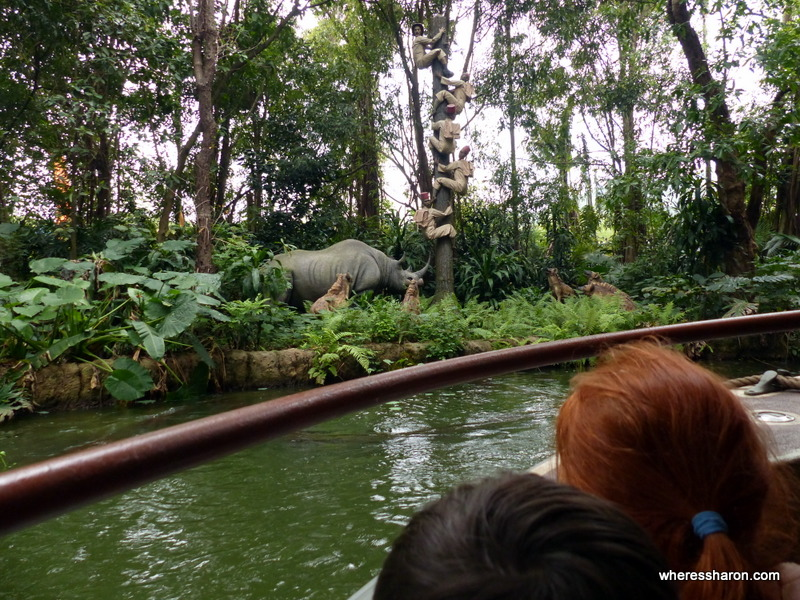Adventureland hong kong disneyland rides review