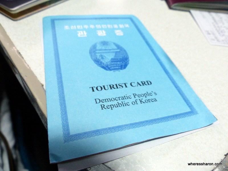 North Korean visa I want to visit North Korea
