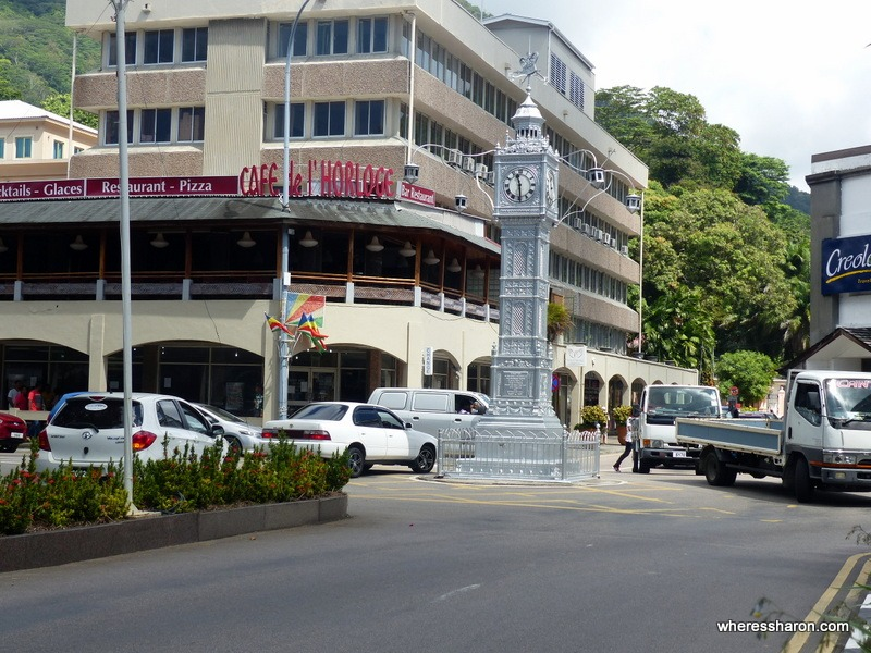 mahe things to do clock tower
