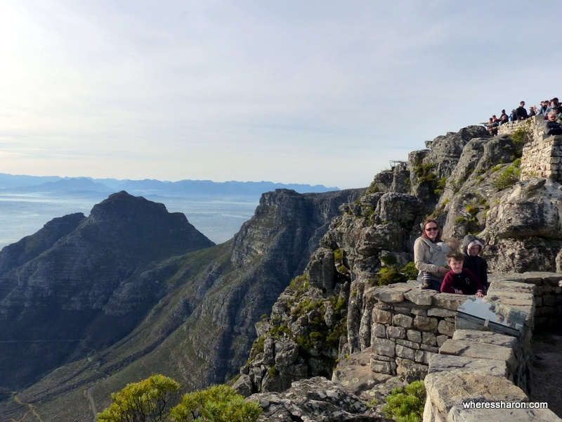 activities for kids cape town Table Mountain