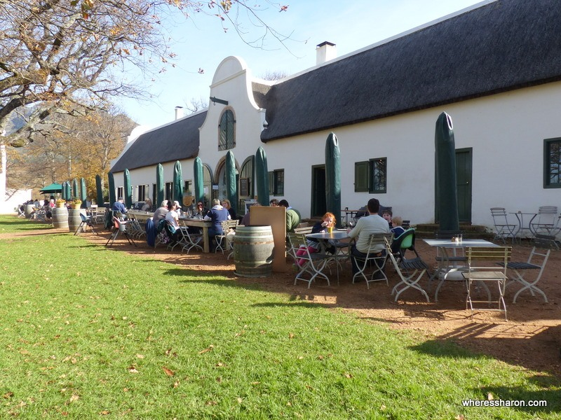 Groot Constantia winery entertainment for kids in cape town