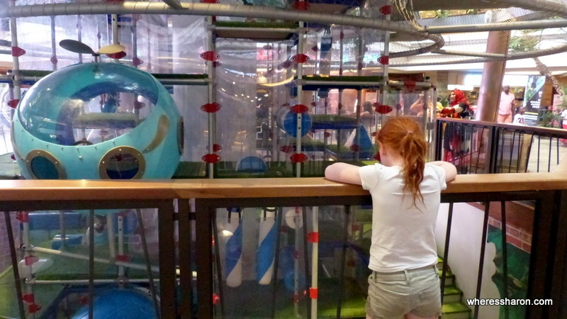 S looks at Sun City's indoor playground which is a great choice for things to do Sun City. One of the best value places to visit in Sun City South Africa.