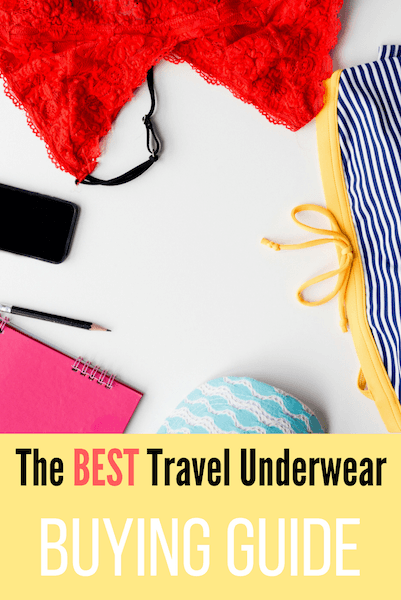 quick dry underwear for travel