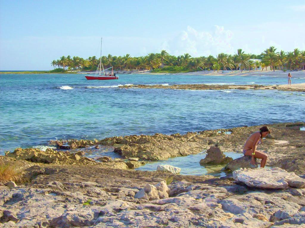 Playa Paamul cuenta con una extensa oferta turística.