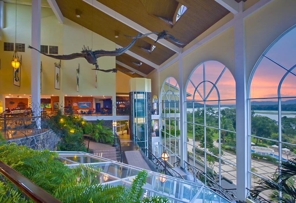 Panoramic windows of the Gamboa Rainforest Resort