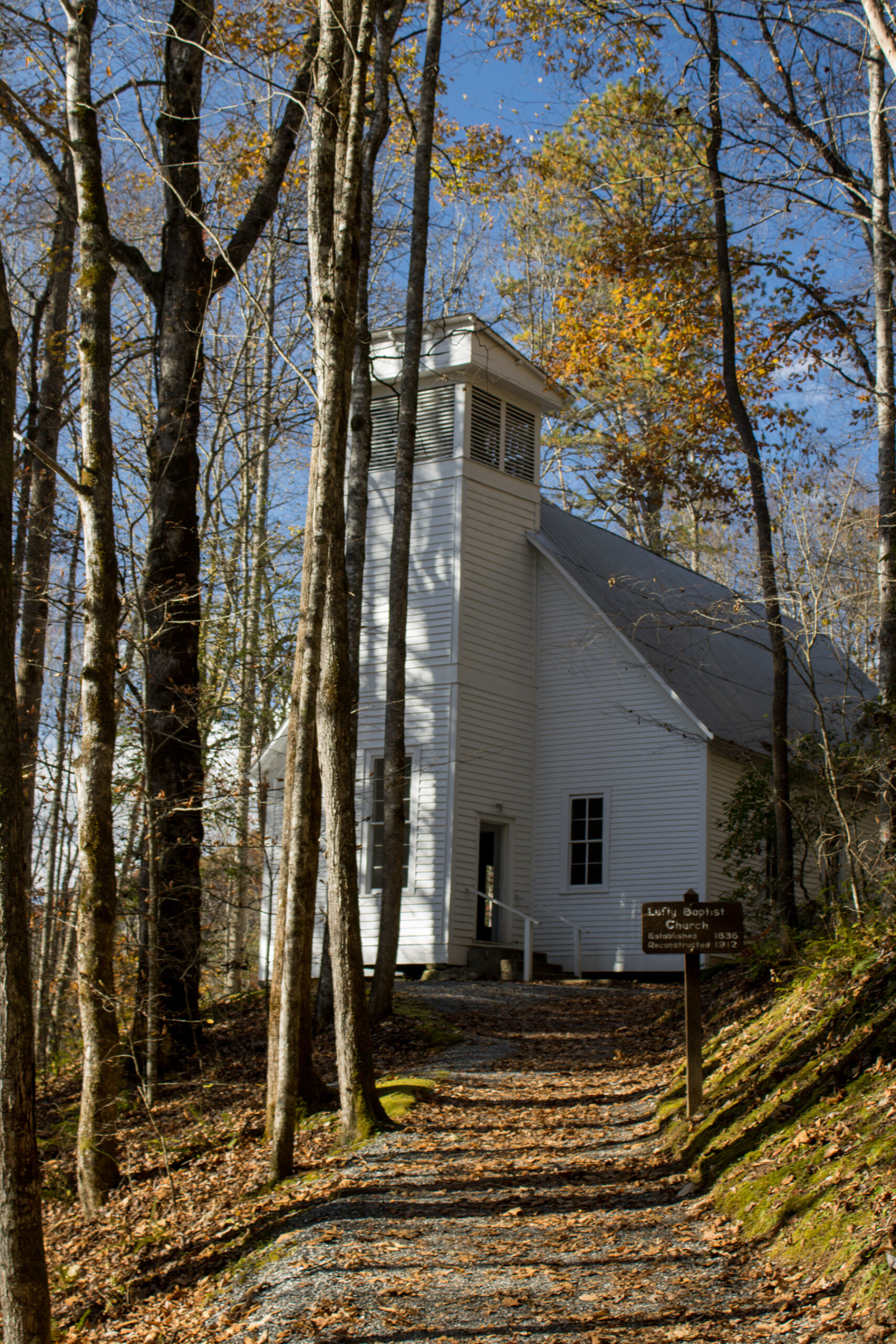 Lufty Baptist Church in Smokemont