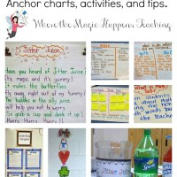 My first full week of school, anchor charts, giveaway announcement, and just about a million FREEBIES!!!
