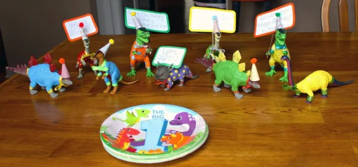Dinosaur First Birthday Party