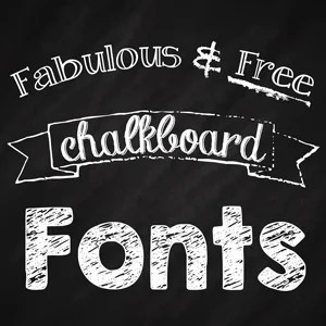 image regarding Printable Fonts for Signs identified as Wonderful Absolutely free Chalkboard Fonts